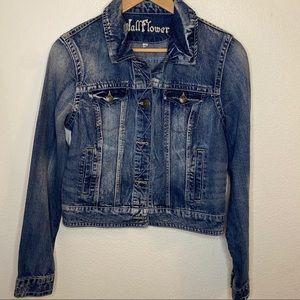 Wallflower Women's Denim Jacket Size: Large